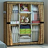 Product review for HHAiNi Triple Reinforced Portable Clothes Wardrobe Oxford Cloth Hanging Storage Closet