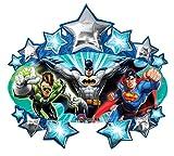 "Justice League Superhero Batman Superman 35"" Birthday Party Supply Balloon"