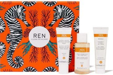 Christmas 2019 by REN Clean Skincare Get The Glow Radiance Gift Set
