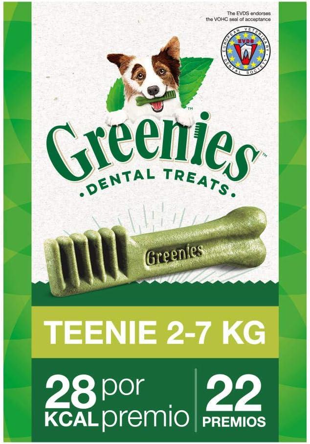 Snack dental Greenies Teenie para perros toy