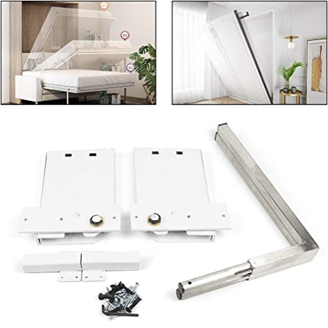 Amazon Com Ranbb Diy Murphy Bed Hardware Kit Queen Size Wall Bed Mechanism Hardware Kit For Horizontal Wall Mount Home Kitchen