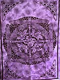 Celtic Dragonfly Tapestry (Purple)