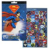 Superman 4 Sticker Sheets Over 270 Stickers