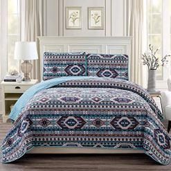 Southwestern Turquoise Quilt Set