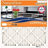 NaturalAire Odor Eliminator Air Filter with Baking Soda, MERV 8, 14 x 24 x 1-Inch, 4-Pack