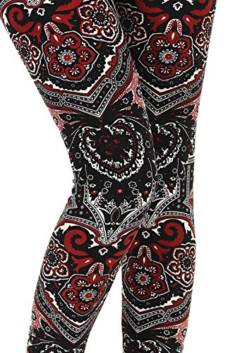 df8dd3efb10ca VIV Collection Updated Best Selling Popular Printed Brushed Buttery Soft  Leggings ...