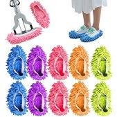 5-pares-Lavable-Mopa-Antipolvo-Zapatillas-Cubiertas-de-Microfibra-Fregona-para-Zapatosde-Limpieza-de-Pisos-para-Bano-Oficina-Cocina-Limpieza-de-la-Casa-Multicolor