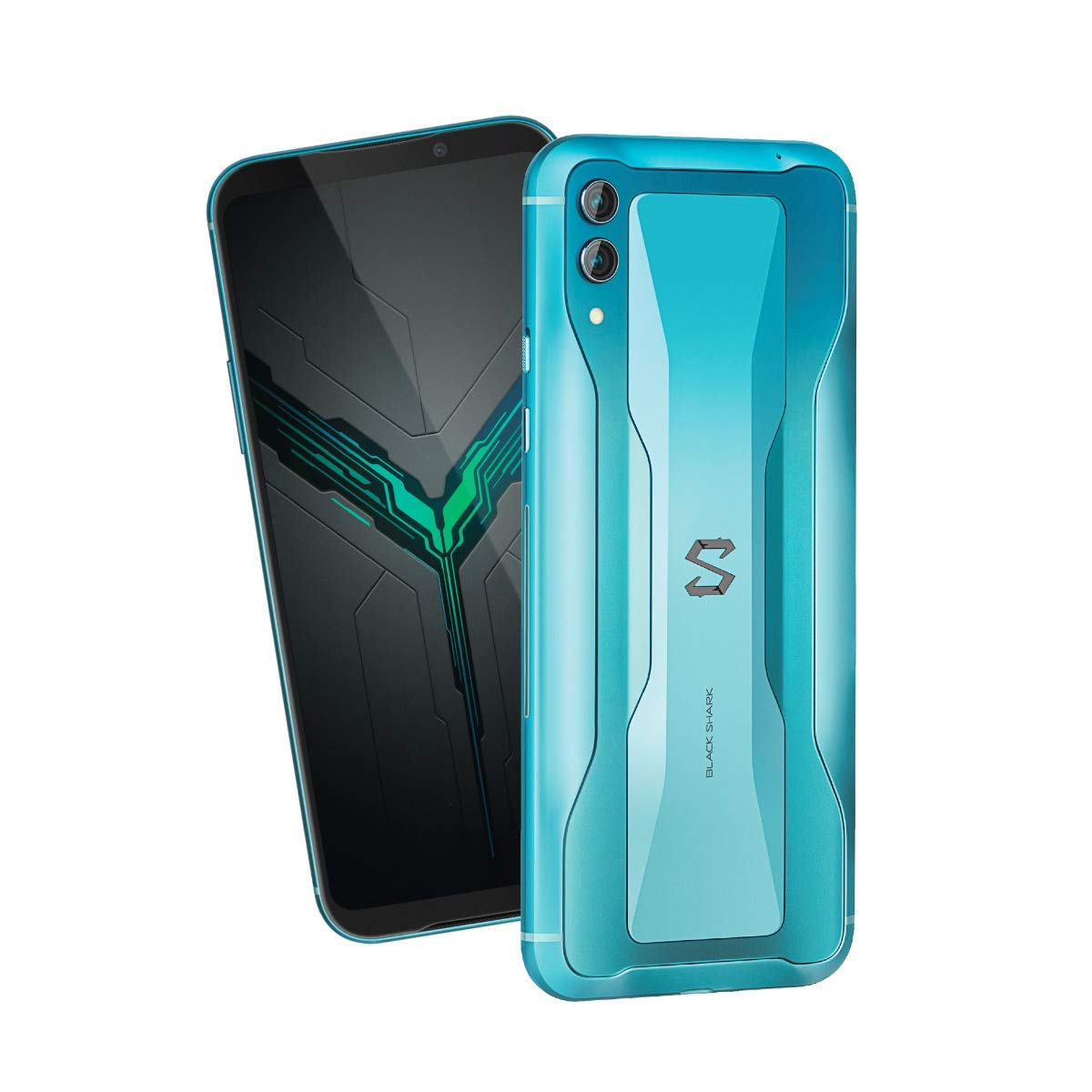 Γερμανικό amazon 👌 Black Shark 2 8GB + 128GB Blue – Dual SIM, 6.39 inch AMOLED, Snapdragon 855, Adreno 640 GPU, Liquid Cooling 3.0, Dual Reversing Camera 48MP + 12MP + Flash and Front 20MP – Global Version by Black Shark