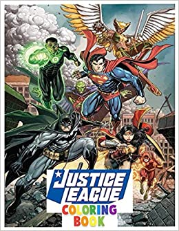 Justice League Coloring Book Fantastic Dc Comis Coloring Book Marvel 100 Pages Awesome Justice League Coloring For Kids And Children Amazon Co Uk Warrios Team 9798648307605 Books