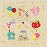 Dimensions Crafts 72-74053 Handmade Sampler Embroidery Kit