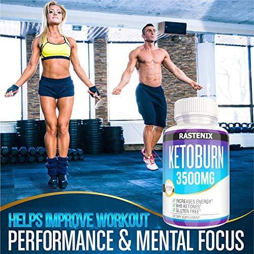 Keto Pills - 3X Potent (2 Pack | 180 Capsules) - Advanced Keto Burn Diet Pills - Boost Energy and Metabolism - Exogenous Keto BHB Supplement for Women and Men (2 Pack) 7