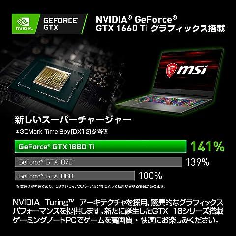 【PUBG日本代表推奨モデル】MSIゲーミングノート GP75-9SD-453JP Win10 Core i7 GTX1660Ti 17.3 16GB SSD512GB