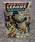 Justice League America #20 Book Cover 2 x 3 Refrigerator or Locker MAGNET