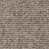 House, Home and More Indoor/Outdoor Carpet with Rubber Marine Backing - Brown 6' x 10' - Carpet Flooring for Patio, Porch, Deck, Boat, Basement or Garage
