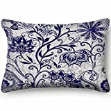best bags Ethnic Traditional Style Floral Vintage Home Decor Wedding Gift Engagement Present Housewarming Gift Cushion Cover 20X30 Inch