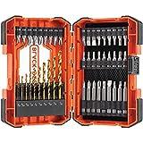 BLACK+DECKER BDA46SDDD 46-Piece Screwdriver & Drill Bits Set
