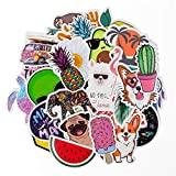 Stickers for Water Bottles Big 30-Pack Cute,Waterproof,Aesthetic,Trendy Stickers for Teens,Girls Perfect for Waterbottle,Laptop,Phone,Travel Extra Durable 100% Vinyl