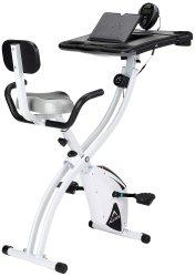 ALINCO フィットネスバイク 折りたたみ 背もたれ付き AFB4518