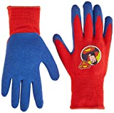 Midwest Quality Gloves SFS100T-T-AZ-6 DC Comics Super Friends Super Man Gripper Glove, Toddler, Multicolor