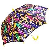 RainStoppers Boy's Hot Car Print Umbrella, 34-Inch