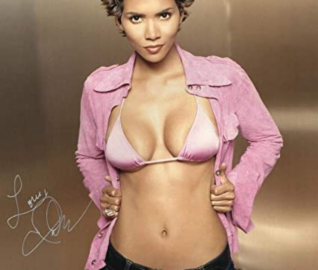 Hot Sexy Halle Berry Signed X Photo Authentic Autograph