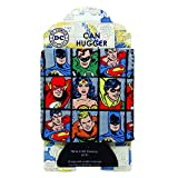 Silver Buffalo DC61033 DC Comics Grid Can Hugger, 4 in. x 5 in.
