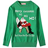 Product review for Camii Mia Big Girls' Santa Claus Pullover Crewneck Ugly Christmas Sweater
