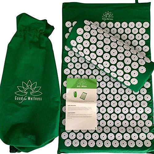 Good For Wellness Acupressure Mat and...