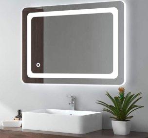 Cozy Castle Bathroom Mirror With LED Lights