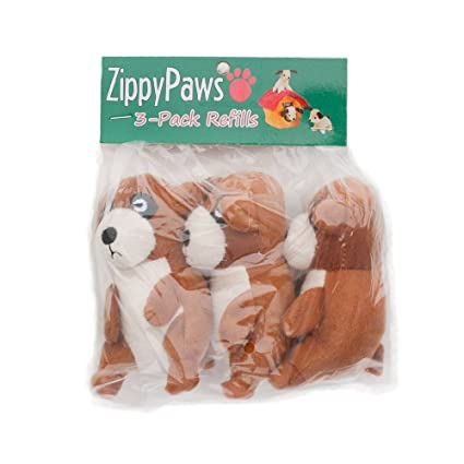 Zippypaws Zoo Friends Burrow Interactive Squeaky Hide And Seek Plush Dog Toy