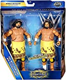 WWE Hall of Fame Class of 2007 Elite The Wild Samoans Afa & Sika Anoa'i 2-Pack