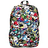 Loungefly x Pokemon Pokeball All Over Print Backpack
