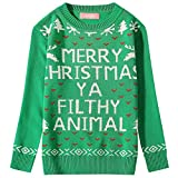 Product review for Camii Mia Big Girls' Funny Xmas Pullover Crewneck Ugly Christmas Sweater