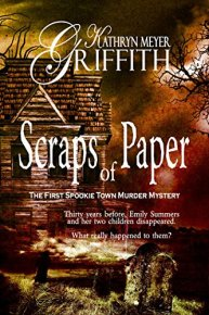 free mystery Scraps of Paper (The First Spookie Town Murder Mystery Book 1) by [Griffith, Kathryn Meyer]