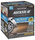 Rust-Oleum 286895 Rock Solid Garage Floor Coating Kit, Earth Brown, 70 Fl. Oz