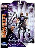 Marvel Disney Select Avenging Hawkeye 7' Action Figure