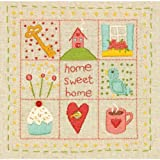 Wilton Dimensions Crafts 72-74050 Home Sampler Embroidery Kit