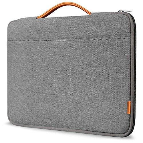 Inateck 13-13.3' Sleeve Case Cover Briefcase Ultrabook Netbook Compatible 13' MacBook Air(Including 2018 Version)/MacBook Pro(Retina) 2012-2015, 2018/2017/2016 Dark Gray (LB1302)