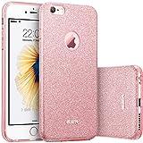 ESR iPhone 6 Plus Case, iPhone 6S Plus Case, Luxury Glitter Sparkle Bling Designer Case [Slim Fit, Hard Back Cover] Shining Fashion Style for Apple iPhone 6 Plus/6s Plus 5.5' (Pink)