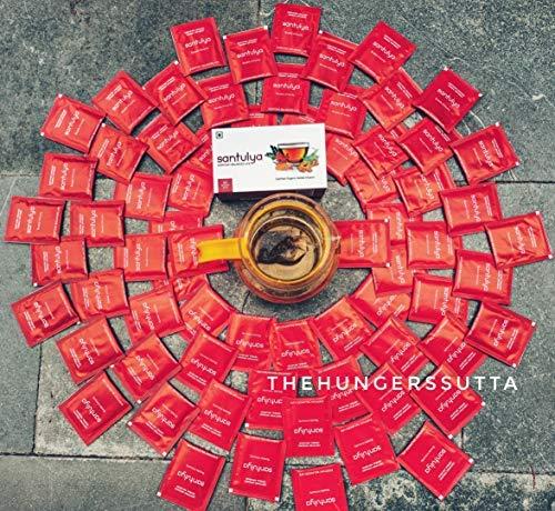 SANTULYA Organic Turmeric + Tulsi + Moringa Herbal Tea for Detox & Immunity (100 Tea Bags) 2