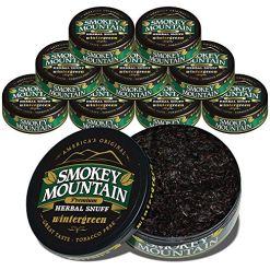 Smokey Mountain Wintergreen Snuff