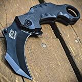 8' Spring Assisted G'Store Open Folding Pocket Knife Karambit Claw Combat Tactical