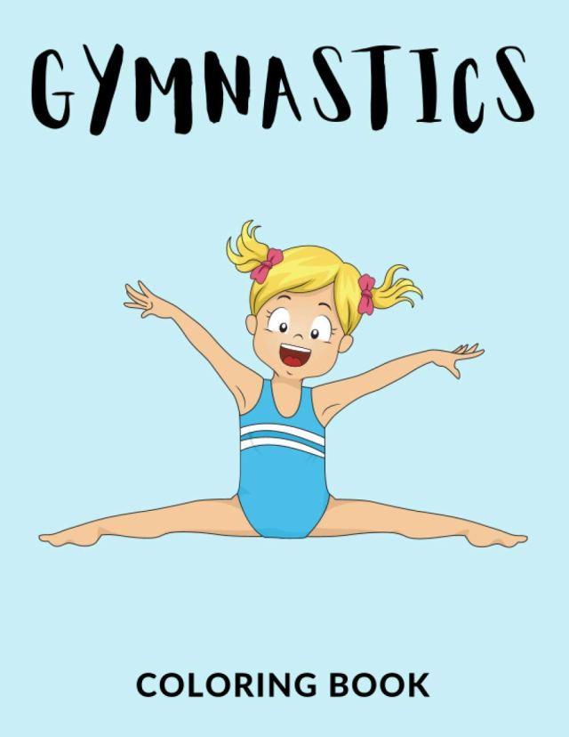 Gymnastics Coloring Book: Gymnastics Coloring Pages For kids