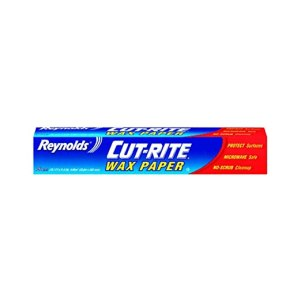 Cut-Rite Wax Paper by Reynolds 75 Sq.Ft