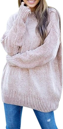 Cozy Chenille Tunic Sweater