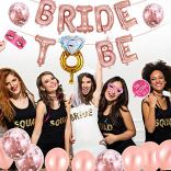 AivaToba-Bride-to-BE-Dcorations-Or-Rose-Bride-to-BE-BallonsBallons-confettis-pour-Douche-Nuptiale-Bachelorette-avec-Accessoires-de-Cabine-de-Photo-de-Partie-de-PouleHen-Party-Decorations-EVJF