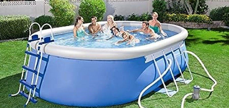 7ab21c2d La top 10 piscina fuori terra ovale autoportante nel 2018 -  miglioreopinioni.com