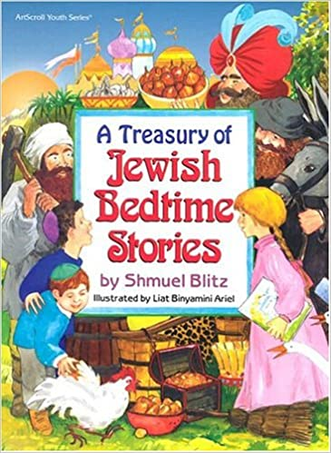Image result for A Treasury of Jewish Bedtime Stories