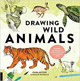Drawing Wild Animals Essential Techniques And Fascinating Facts For The Curious Artist Befort Oana Reinbold Maggie 9781631593499 Amazon Com Books