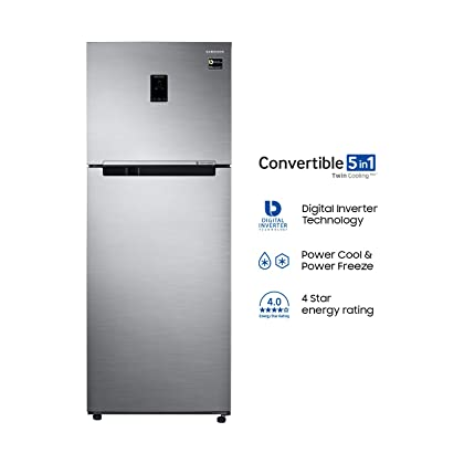 Samsung 415 L 4 Star Inverter Frost Free Double Door Refrigerator